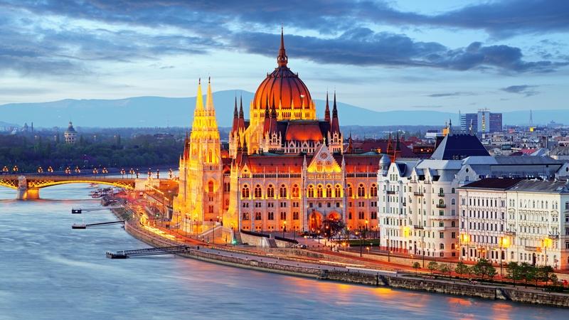 De Berlim à Budapeste